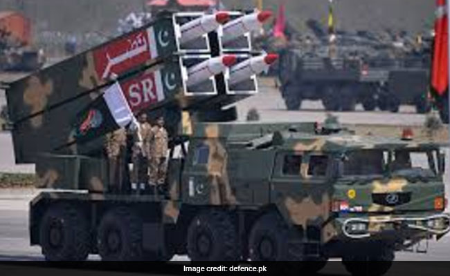 Pakistan Test Fires 'Nasr', Army Chief Says Missile Put 'Cold Water' On India's Cold Start