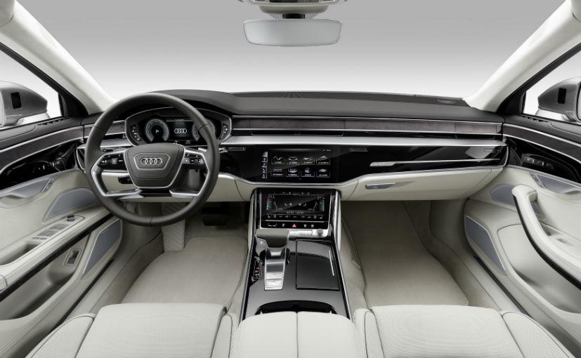 India Bound New Audi A8 Luxury Sedan Unveiled Ndtv