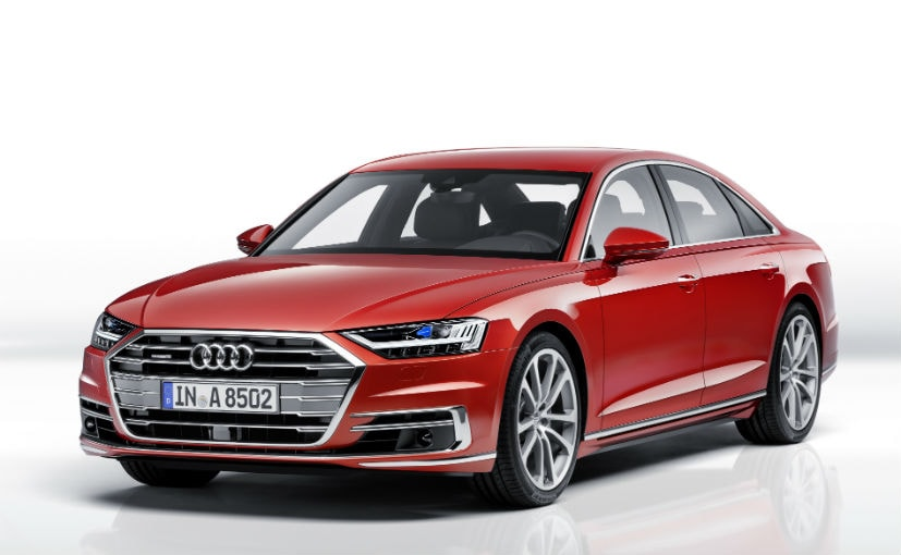 India Bound New Audi A8 Luxury Sedan Unveiled