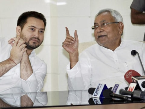 Nitish Kumar says Bihar government stable amid reports of rift with ally Lalu Yadav over corruption charges against his son
