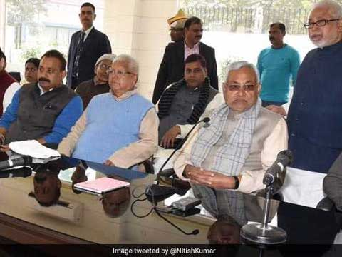 \'Nitish Kumar is no saint,\' proclaims Team Lalu, confrontation gets uglier. Tap to read