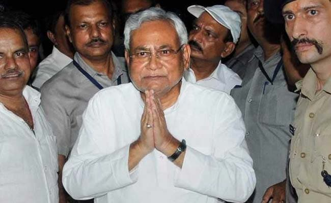 Nitish Kumar Dumps Grand Alliance, Reboots BJP Partnership