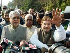 As Nitish Kumar Takes Oath, Sharad Yadav Is Missing And Silent