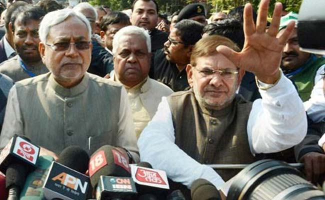 Sharad Yadav Called Up, Says Lalu Yadav After Nitish Kumar's Trust Vote