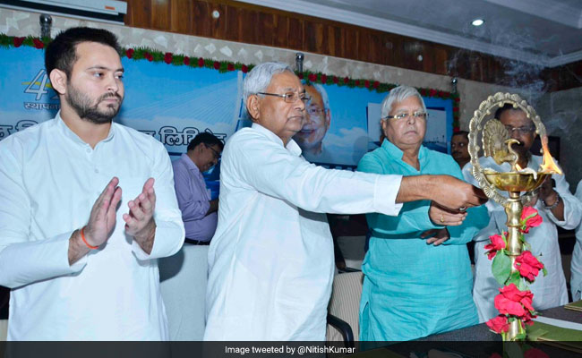 Sorry, But No: Nitish Kumar Turns Down Tejashwi Yadav's Request