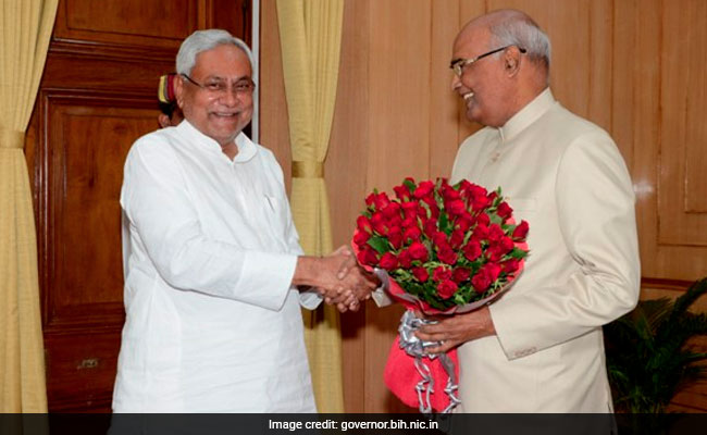 Will Be There, Says Nitish Kumar, Invited By President-Elect Kovind