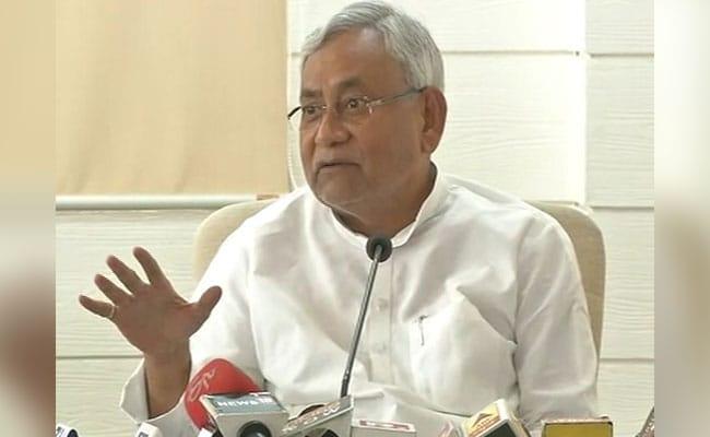 2019 में दिल्ली की गद्दी पर मोदी के अलावा कोई और नहीं बैठ सकता :  नीतीश कुमार