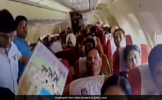 Air India Passengers faces trouble, AC stops working