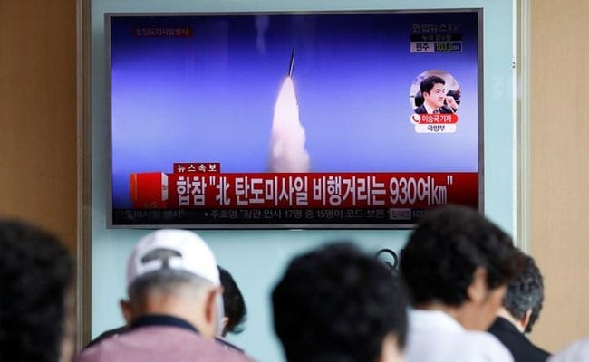 North Korea Test-Fires Ballistic Missile That Lands In Japan Exclusive Economic Zone