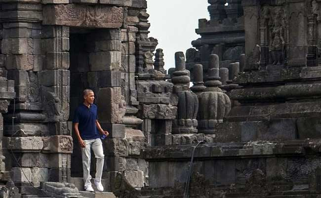 In Childhood Home Indonesia, Barack Obama Calls For Tolerance