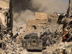 Mosul's Once-Thriving Old City Now A Grey Wasteland