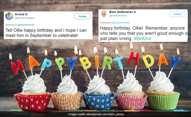 The Moving Reason Why Celebrities Are Tweeting Birthday Wishes To This Boy