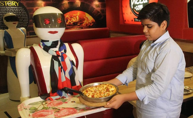 Pizza Bytes! Pakistan Enchanted By First Robot Waitresses