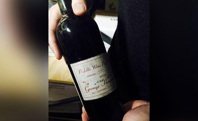 Bottle Of Historic Australian Red Wine Sells For $41,000