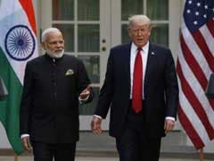 """Make In India"" vs ""America First"" As PM Modi Hosts Donald Trump"