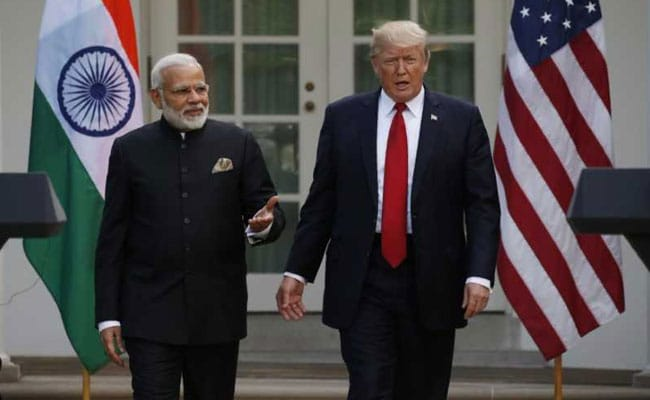 Image result for donald trump with modi image