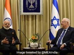 PM Narendra Modi Calls On Israeli President, Discusses Ways To Boost Ties