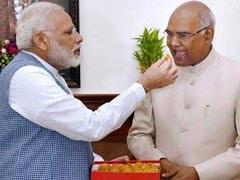 रामनाथ कोविंद जीते राष्ट्रपति चुनाव, पीएम मोदी ने दी बधाई, ट्वीट की पुरानी तस्वीर