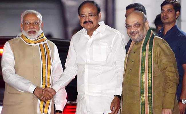 BJP likely to end suspense on VP candidate today