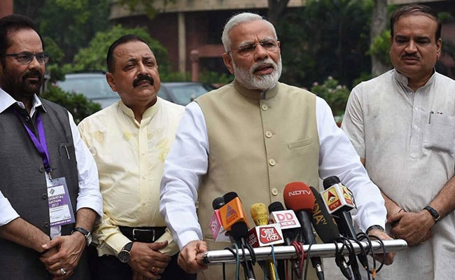 PM Narendra Modi Hopes Monsoon Sessions Reflect GST Spirit Of Unity
