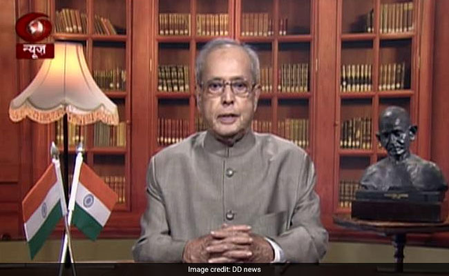 Full Text Of President Pranab Mukherjee's Farewell Address To The Nation