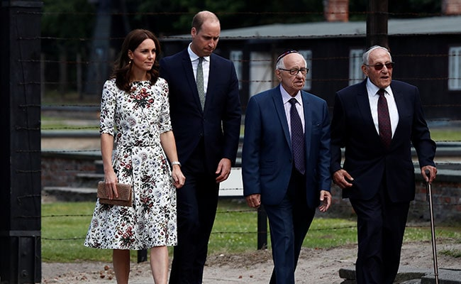Britain's Royal Couple Meets Holocaust Survivors In Poland