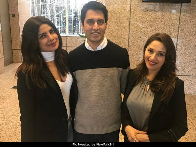 Priyanka Chopra, Madhuri Dixit Collaborate For American Comedy Series