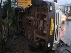 Speeding Tanker Rams Mini Bus, Kills 7 Techies In Pune. Driver Arrested