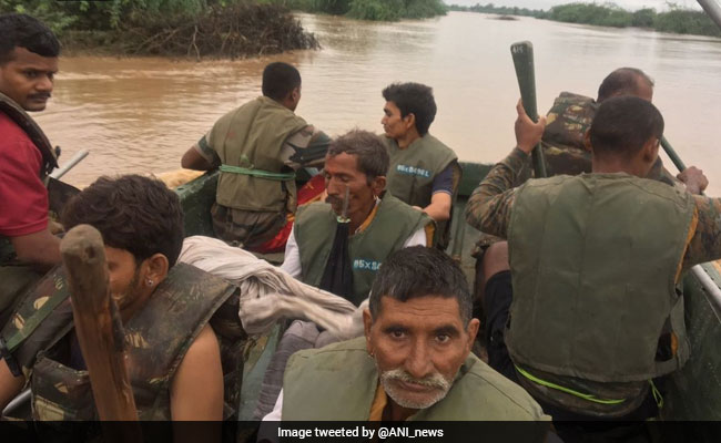 Family of 7 Rescued From Tree After 40 Hours in Flood-Hit Rajasthan