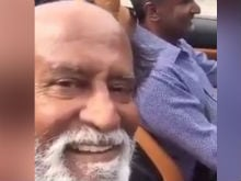 Rajinikanth Is <I>Ferrari Ki Sawari</i> In His First Selfie Video. Watch Here