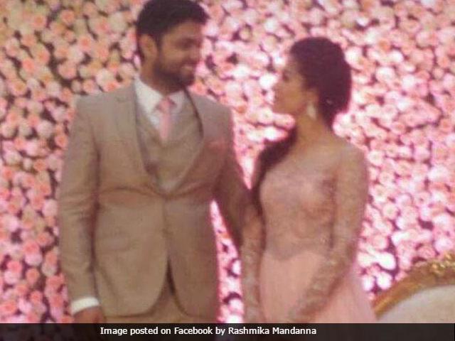 Inside Rashmika Mandanna And Rakshit Shetty's Engagement