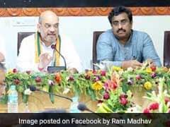 राज्य सभा उम्मीदवारों के चयन के लिए बीजेपी की बैठक, राम माधव का नाम चर्चा में