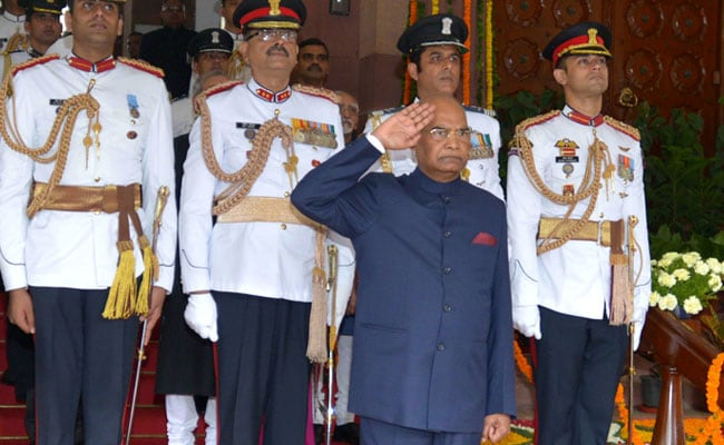 Ram Nath Kovind's Speech On Swearing In As President Of India: Full Text