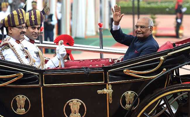 Ram Nath Kovind Takes Oath As President, Says 'Unity Is The Way Forward'