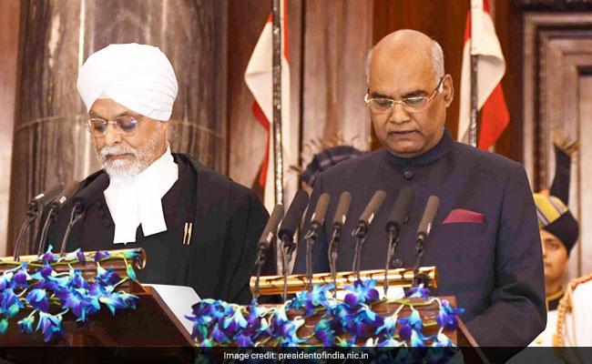 ram nath kovind takes oath