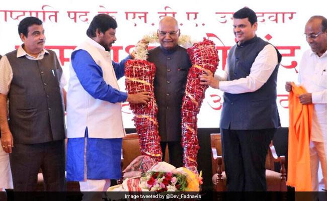 Presidential Polls: NDA's Ram Nath Kovind Visits Maharashtra, Goa And Gujarat; Winds Up Nationwide Tour