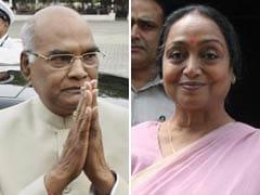 राष्ट्रपति चुनाव के लिए वोटिंग आज, आंकड़े एनडीए उम्मीदवार रामनाथ कोविंद के पक्ष में