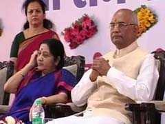 राष्ट्रपति चुनाव : मुंबई पहुंचे रामनाथ कोविंद  विधायकों एवं सांसदों की बैठक को संबोधित करेंगे