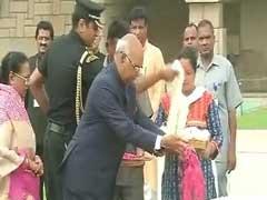 Ram Nath Kovind Visits Rajghat Before Leaving For Rashtrapati Bhavan