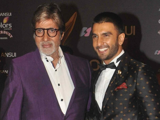 Now, Ranveer Singh ignores a text from Amitabh Bachchan