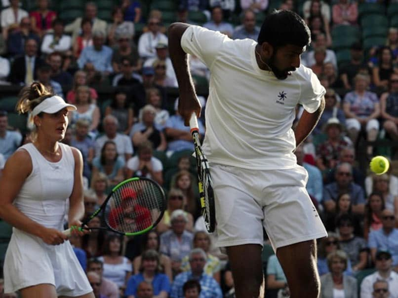 Jamie Murray and Martina Hingis homing in on Wimbledon mixed doubles title