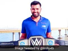 Rohit Sharma Receives Special Gift From WWE Star Triple H