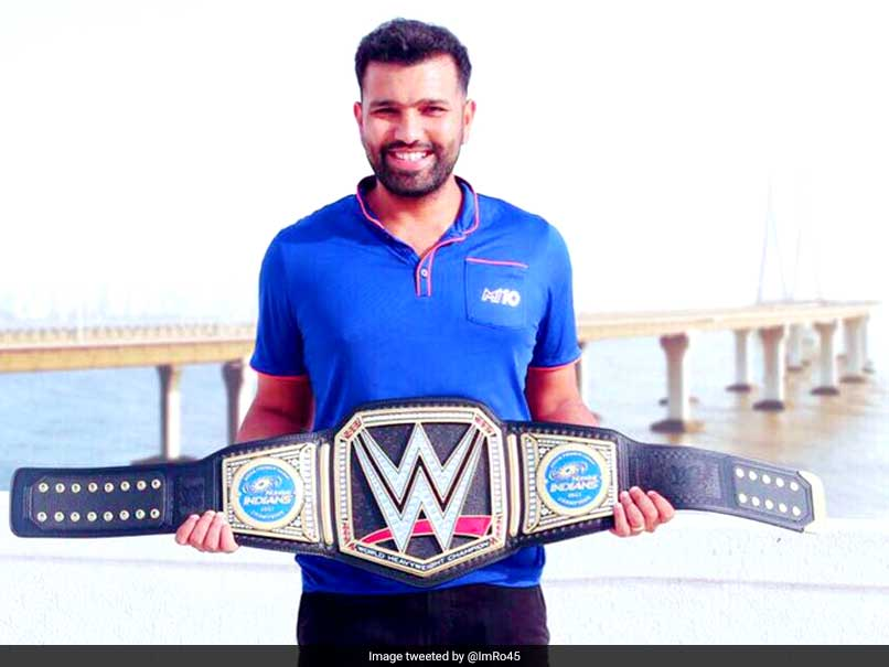 India has two WWE Champions now - Jinder Mahal and Rohit Sharma