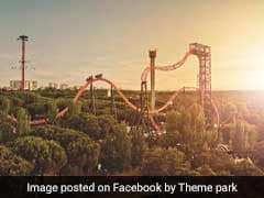 Rollercoaster Cars Crash At This Theme Park In Spain , More Than 30 Injured