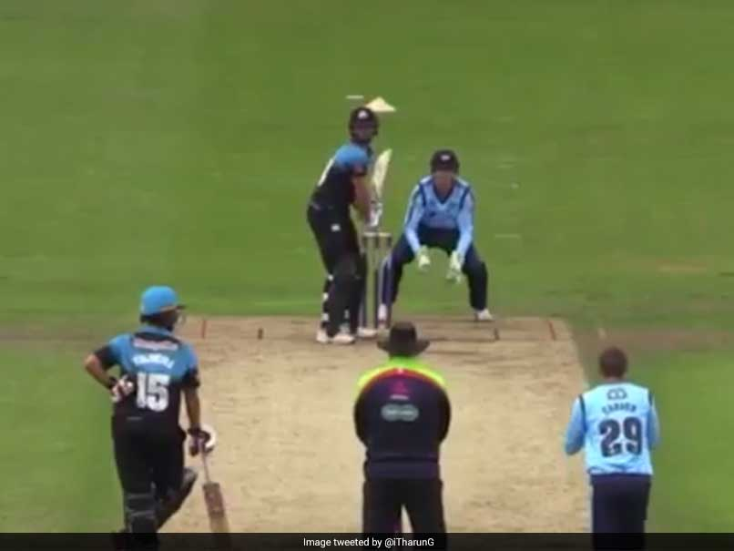 Watch: Ross Whiteley Does A Yuvraj Singh, Smokes Six Sixes In An Over