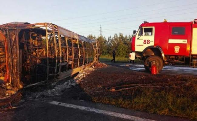 14 Dead In Bus Crash In Russia