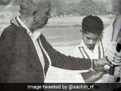Guru Purnima: Sachin Tendulkar Wishes Coach Ramakant Achrekar, Posts Old Photograph