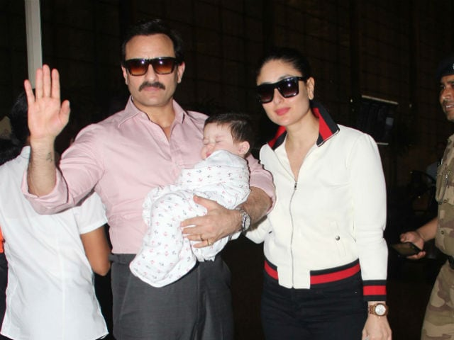Baby Taimur Goes On Holiday To Switzerland With Parents Kareena Kapoor And Saif Ali Khan