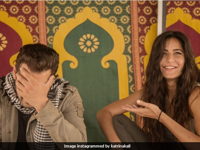 Katrina Kaif Shares A Picture With Salman Khan On Tiger Zinda Hai Set. No Caption Needed