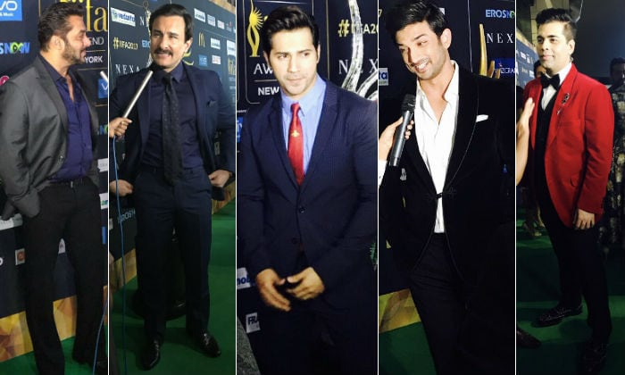 18th IIFA Awards 2017 Celebs at IIFA Rocks green carpet